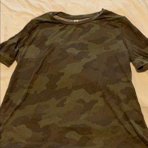 Camo Short Sleeved Shirt